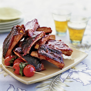 Chinese-Style Ribs with Guava Barbecue Sauce.