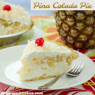 Pina Colada Pie.