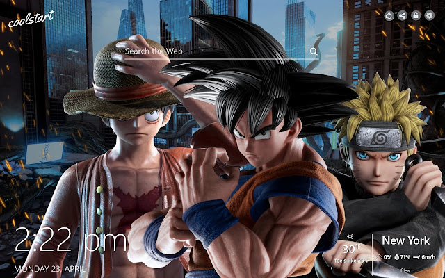 Jump Force HD Wallpapers Games Theme