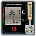 Body Temperature Fever : Thermometer History Diary icon