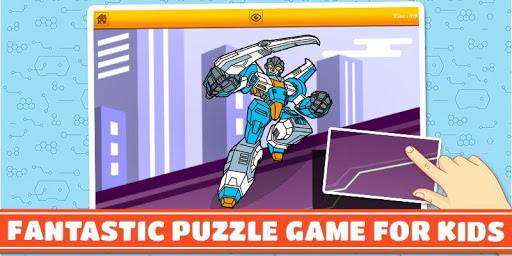 Heroic Robot: Boys Puzzle Game