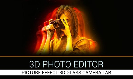 3D Photo Editor-Picture Effect 3D Glass Camera Lab - náhled
