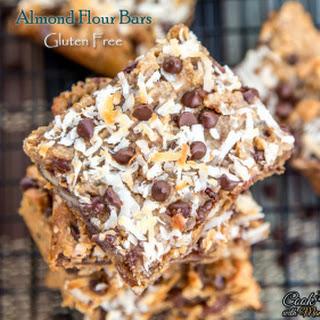 Almond Flour Bars - Gluten Free Bars