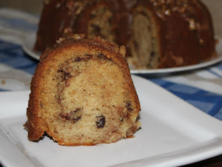 Cinnamon Swirl Bundt With Pecan Brown Butter Glaze Recipe