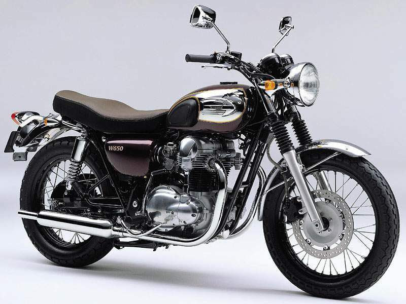 Kawasaki W 650-manual-taller-despiece-mecanica