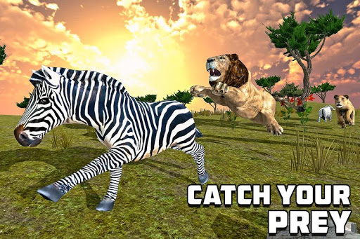 furious lion family sim screenshot 1
