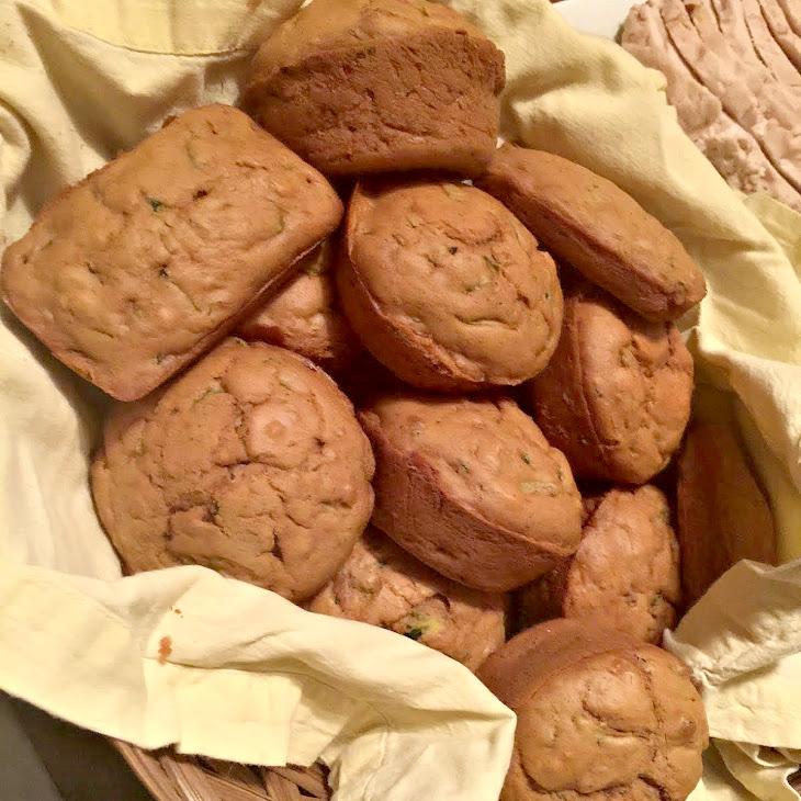 Sugar Free Zucchini Muffins Recipe