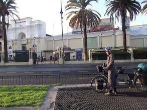 Photo: Dobbin rebuit, and ready to hit 7am Santiago!