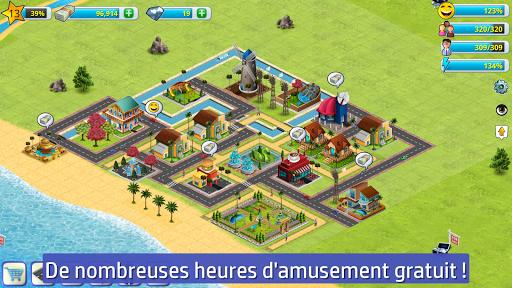 Cité village - sim d'île 2  screenshots 2