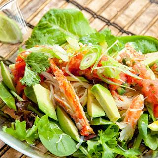 Crab Taco SaladRecipe