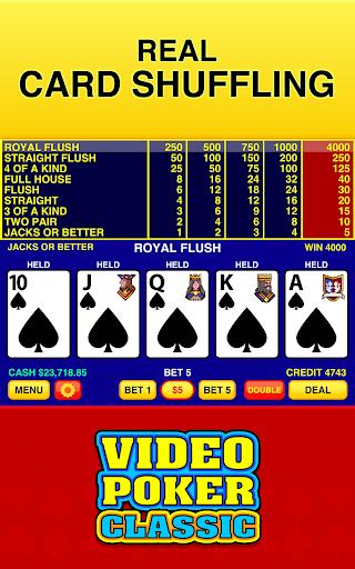 Video Poker Classic Free  screenshots 3