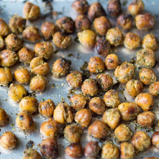 Herb-Roasted Chickpeas (Garbanzos) [Gluten-Free Vegan]
