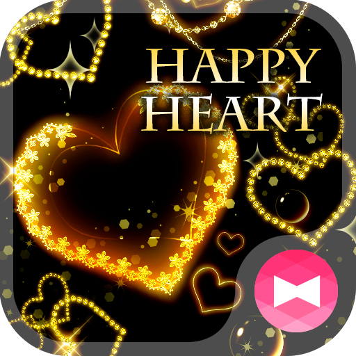 Fancy Wallpaper HAPPY HEART Theme Icon