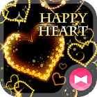 Fancy Wallpaper HAPPY HEART Tema icon