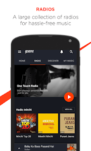 Gaana: Bollywood Music & Radio screenshot 1