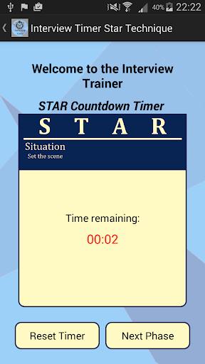 Interview STAR Timer Technique screenshot 1