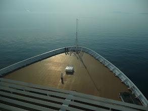 Photo: the bow -- en route to Alaska