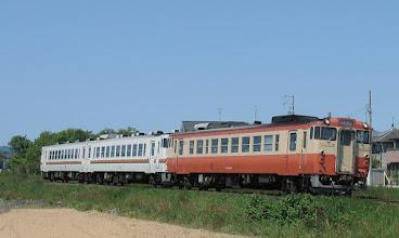 Photo: 2013年5月8日 宮川←田丸 間 伊勢市行き普通 921D列車