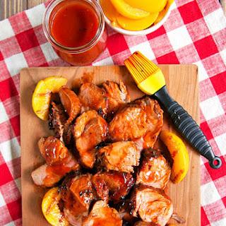 Peach Tea BBQ Sauce