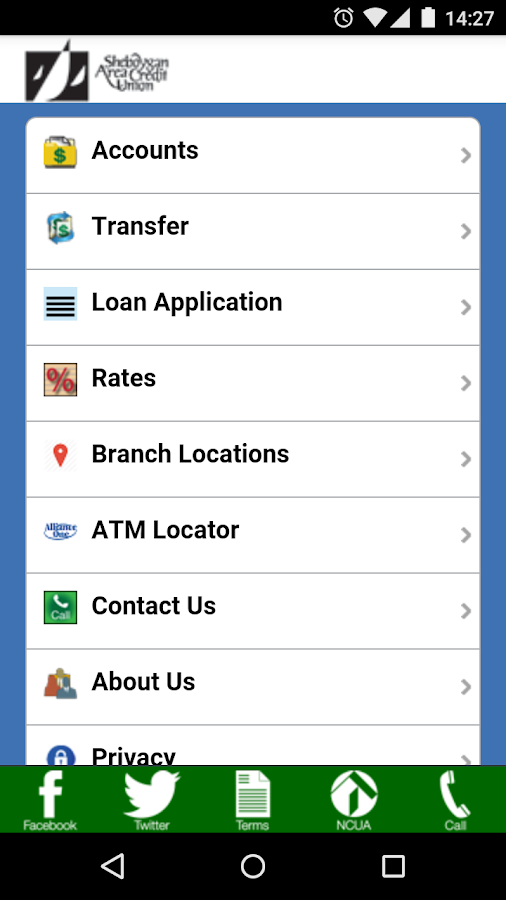 SACU Mobile- screenshot