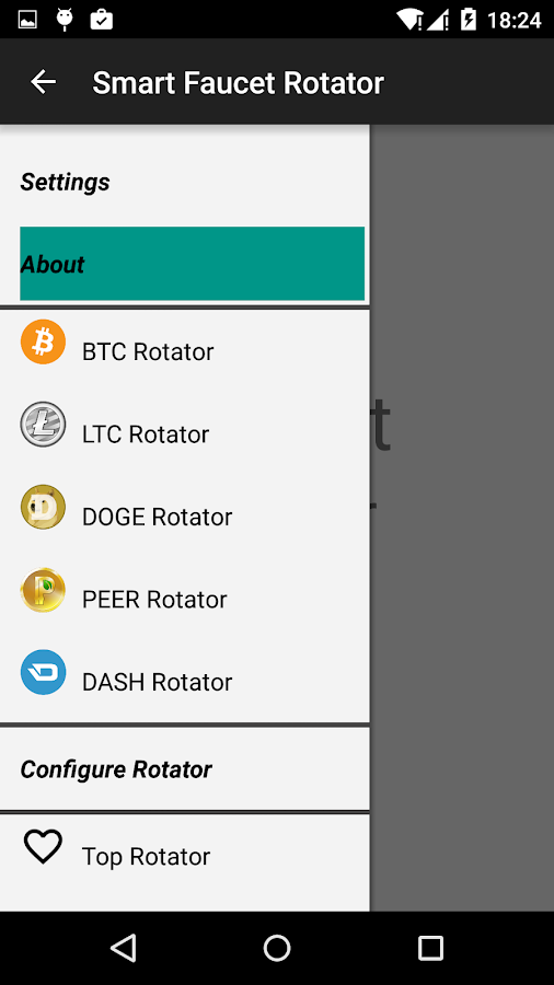 Bitcoin Smart Faucet Rotator- screenshot