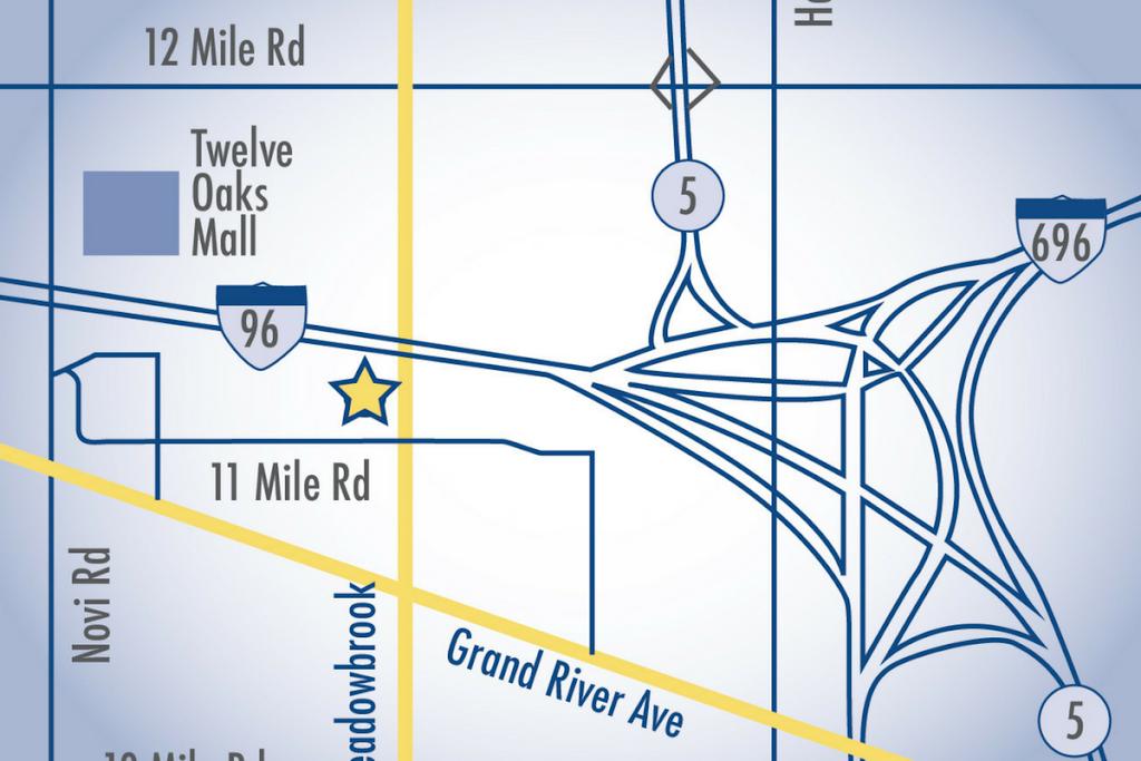 Novi Location Map