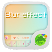 Blur Effect Keyboard
