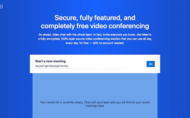 Jitsi Desktop Streamer for Chance Project
