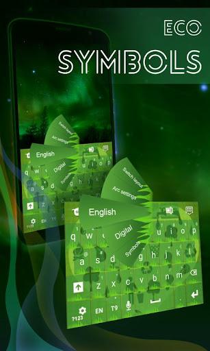 生态符号键盘