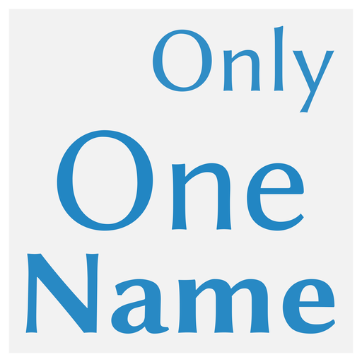 Only One Name Android APK Download Free By S. William Smith