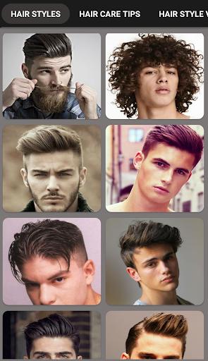 Boys Men Hairstyles and boys Hair cuts 2018 2.2 screenshots 1