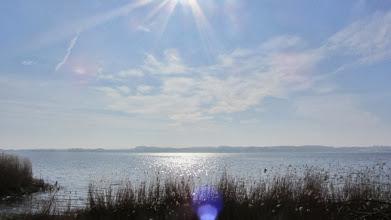 Photo: an der Großen Breite - hier ist die Schlei sehr breit