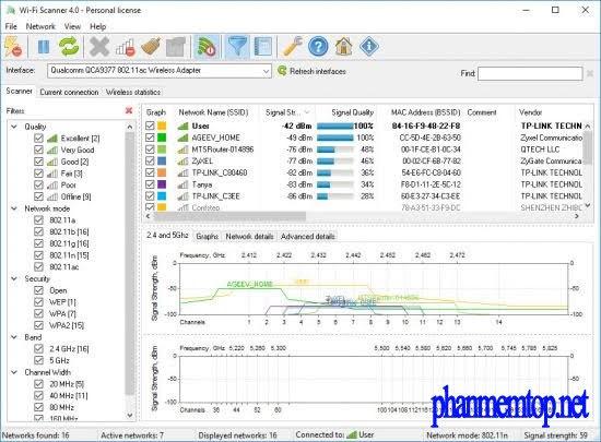 Wi-Fi Scanner Free Download