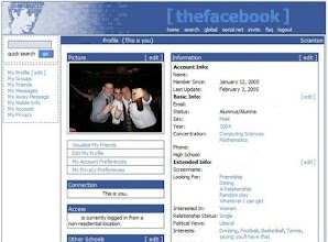 """Photo: (The) Facebook, once logged in - Some """"drunk pictures"""" already... (2005)"""