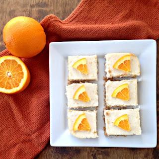 Creamy Orange Bars.