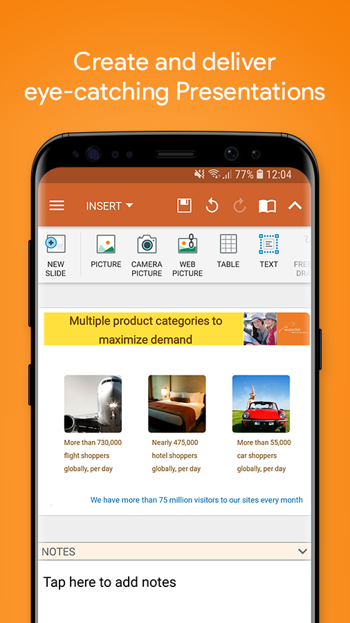 OfficeSuite - Office, PDF, Word Sheets Slides Note Screenshot 3