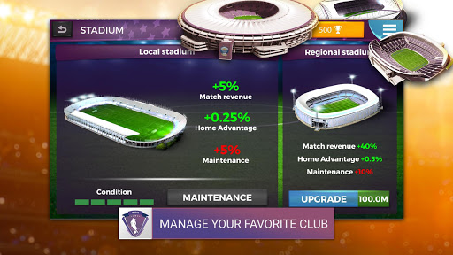 Women's Soccer Manager - Football Manager Game 1.0.13 screenshots 2