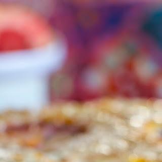 Blood Orange, 'Ricotta' and Almond Upside Down Cake.