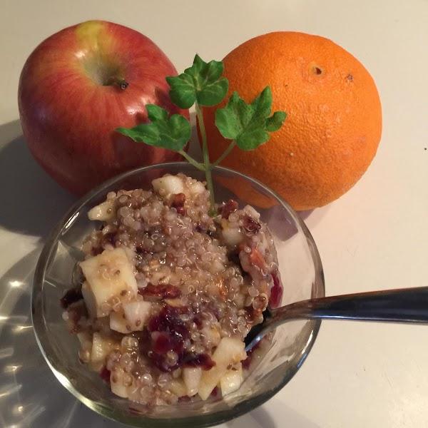 Quinoa/chia Fruit Salad Recipe