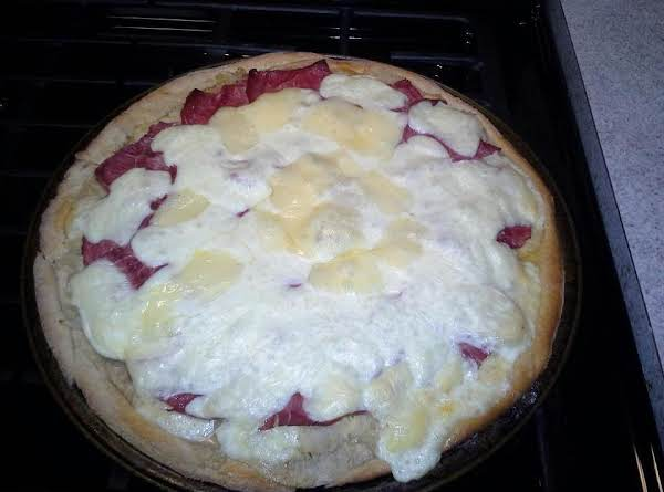 Ruben Pizza Recipe
