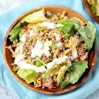 Low Carb Cheeseburger Salad Recipe