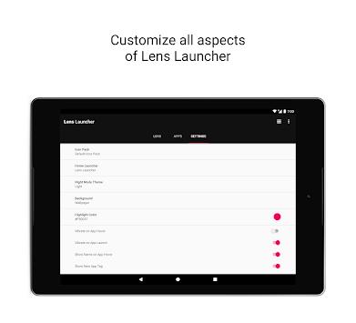 Lens Launcher