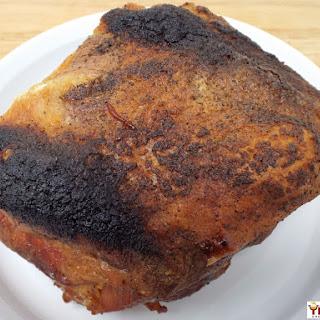 Slow Roasted Crispy Pork Shoulder.