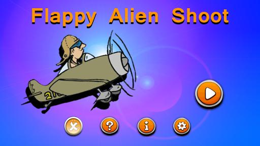 Flappy Alien Shoot