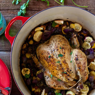 One-Pot Roasted Chicken & Veggies