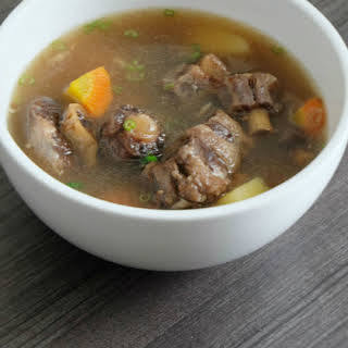 Easy Oxtail Soup.