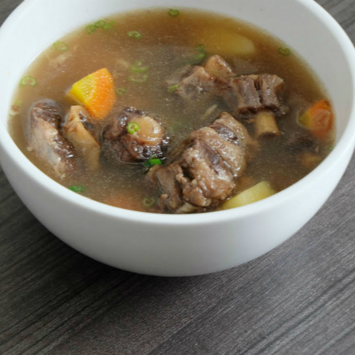 Easy Oxtail Soup