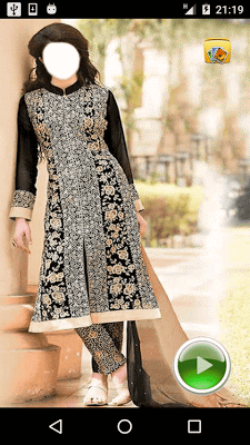Indian Dress Fashion Montage - screenshot