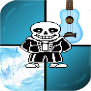 Undertale On Piano Tiles Game