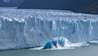 Photo: Perito Moreno birthed an iceburg from below as we watched